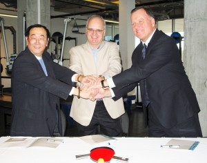 Richmond Oval NEWS RELEASE_Table Tennis Canada Official Training Centre